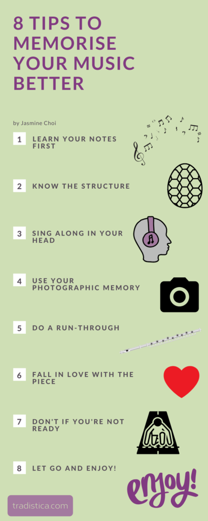 8 Tips to memorise your music better