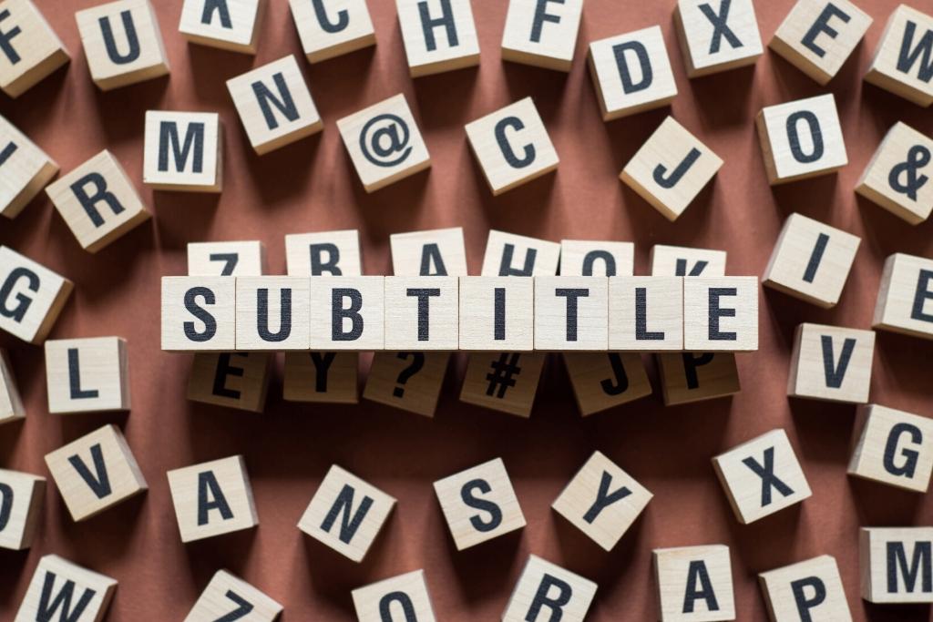 Subtitulado del inglés y del español al francés